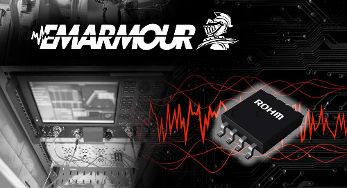 ROHM Introduces New EMARMOURTM Two-Channel, High-Speed Op Amp
