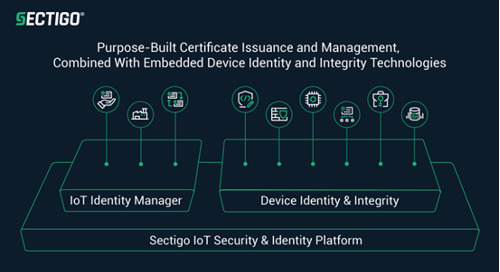 Sectigo Releases Advancements for IoT Manager
