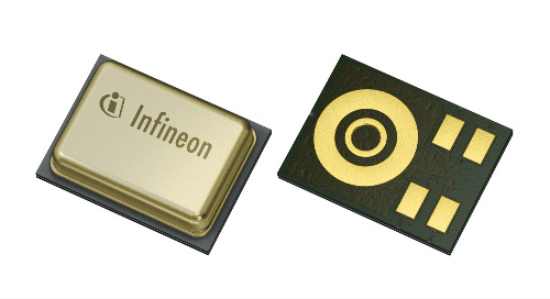 Infineon Launches New Technologies for Acoustical Performance and Power Consumption of MEMS Microphones