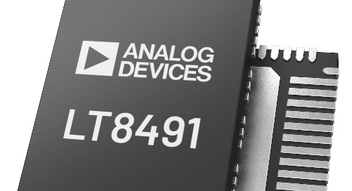 Analog Devices Announces 80V Buck-Boost Battery Charging Controller with Maximum Power Point Tracking and I2C