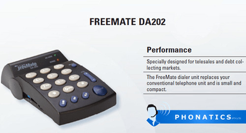 Freemate DA202 Dialer Unit [Brochure]
