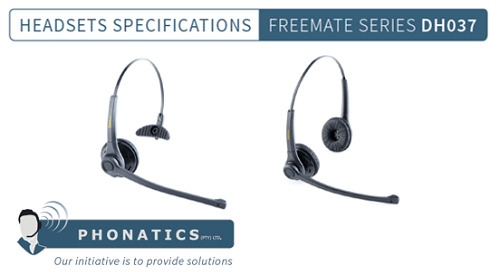 Freemate DH037 Headset [Brochure]