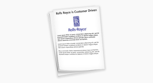 How Rolls Royce Uses Data Intelligence to to Elevate the Customer Experience