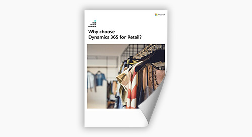 Why Dynamics 365 for Retail?