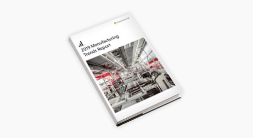 2019 Emerging Trends in Manufacturing report