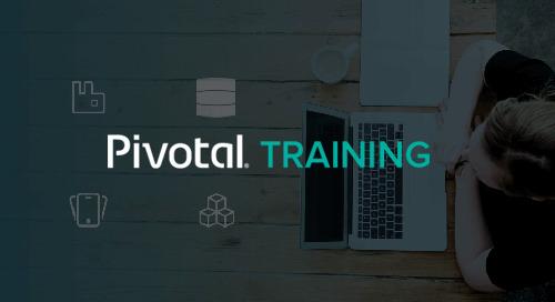 Pivotal Cloud Foundry Developer