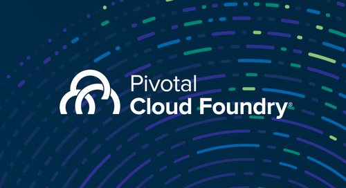 Always Be Shipping with Pivotal Cloud Foundry 1.10: Go Fast, Go Secure, and Go .NET!