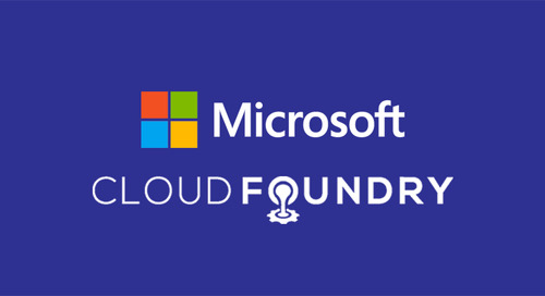 Microsoft joins the Cloud Foundry Foundation