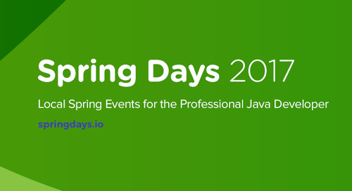 Software Patterns are Evolving. Are You Keeping Up? Spring Days Can Help.