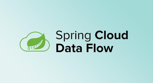 Spring Cloud Data Flow 1.1 增强新功能曝光!