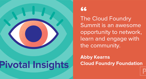 Previewing Cloud Foundry Summit 2017 with Abby Kearns (Ep. 33)