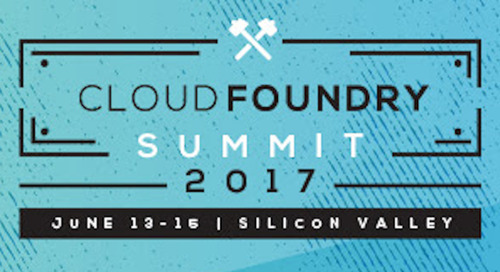 Five Can't Miss Practitioner Sessions at Cloud Foundry Summit 2017
