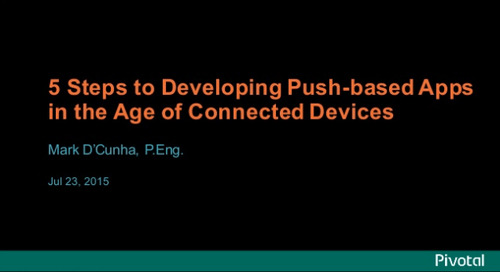 Five Steps To Building Push-Enabled Mobile Apps
