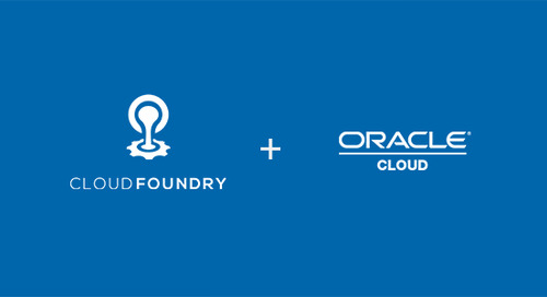 On Choice and Oracle Joining the Cloud Foundry Party