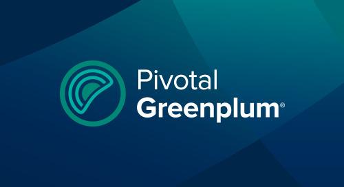 一个数据平台的演变:与Greenplum和Kubernetes同行
