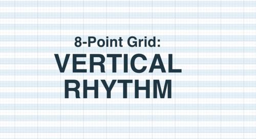 8-Point Grid: Vertical Rhythm