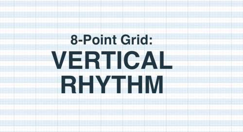 8-Point Grid: Vertical Rhythm