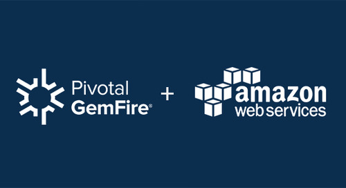 Pivotal GemFire Now Available in the AWS Marketplace