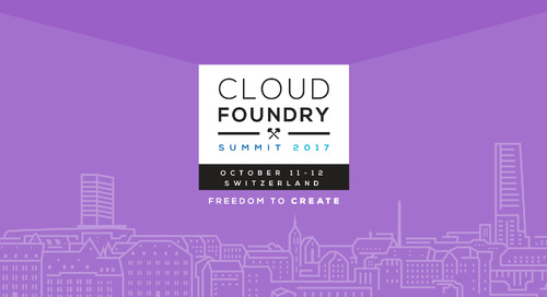 Building Data-Driven IoT Apps on Cloud Foundry