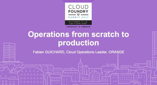 Orange Presentation: Cloud Foundry Summit Europe 2017