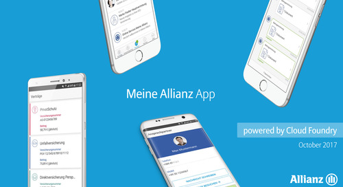 Allianz Presentation: Cloud Foundry Summit Europe 2017