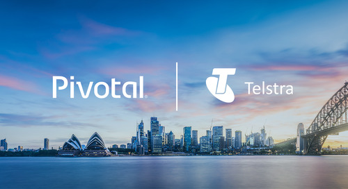 Telstra Teams with Pivotal to Accelerate Transformation to Move at Startup Speed