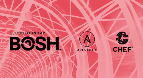 Infrastructure as Code is Not Enough: Comparing BOSH, Ansible, and Chef - Part 2