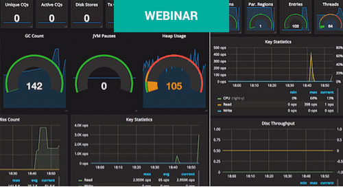 Feb 1 - Visualize and Analyze Apache Geode Real-time and Historical Metrics with Grafana Webinar