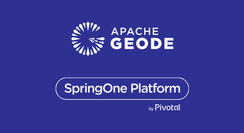 Apache Geode Summit at SpringOne Platform