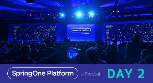 The Platform Evolves: Day 2 at SpringOne Platform 2017