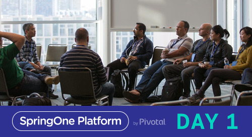Participation is Required: Day 1 at SpringOne Platform 2017