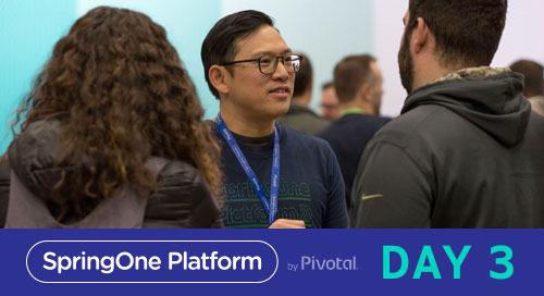 The Hard Stuff: Day 3 at SpringOne Platform 2017