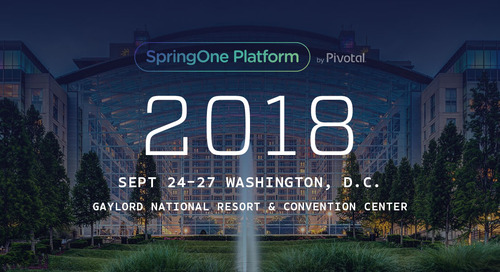 Level Up at SpringOne Platform 2018