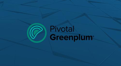 Introducing Pivotal Greenplum 5.3