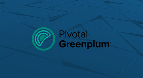 Introducing Pivotal Greenplum 5.3