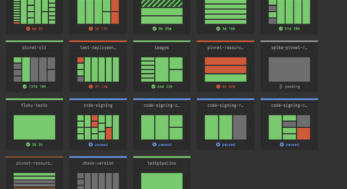 Designing a Dashboard for Concourse