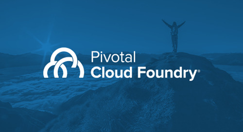 Pivotal Cloud Foundry 2.1 Adds Cloud-Native .NET, Envoy & Native Service Discovery to Boost Your Transformation