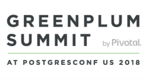Greenplum Summit 2018 Sessions on YouTube
