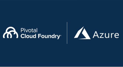 If You're Building IoT Apps, You Need a Modern Platform. Here's a Closer Look at Pivotal Cloud Foundry on Microsoft Azure