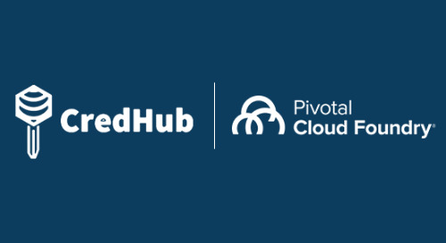 Need to Secure Credentials for Off-Platform Services in PCF? Try the CredHub Service Broker, Now in Beta! We Take an Inside Look.