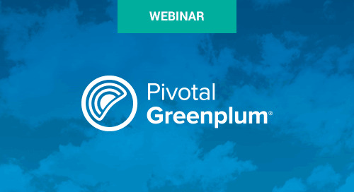 Aug 16 - Mixing Analytic Workloads with Greenplum and Apache Spark Webinar