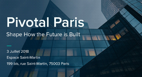 Pivotal Paris: Alliance Connected Cloud - Renault-Nissan-Mitsubishi