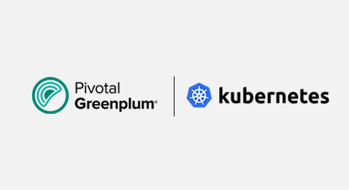 The Evolution of a Data Platform:  A Journey With Greenplum and Kubernetes