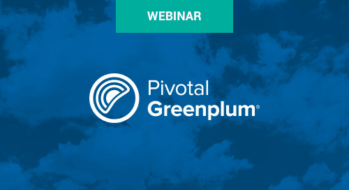 Aug 22 - How to Meet Enhanced Data Security Requirements with Pivotal Greenplum Webinar