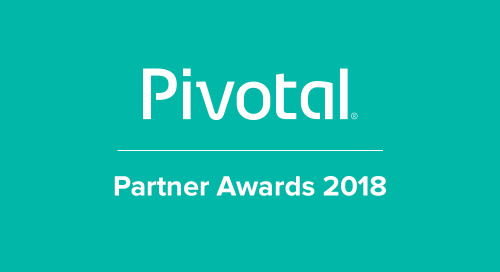 Pivotal Names Perficient a Systems Integrator Customer Impact Partner Award Winner for Achievements in Cloud Innovation