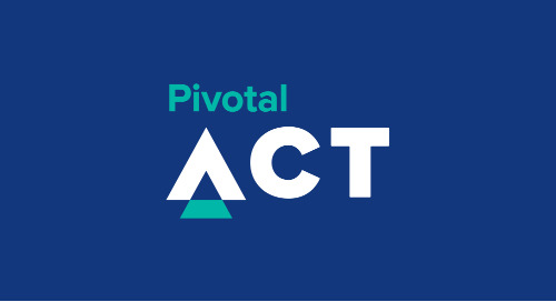 Announcing Pivotal Act, A Program to Help the Humanitarian Sector Build Technology