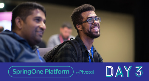 The Networked World; Day 3 at SpringOne Platform 2018