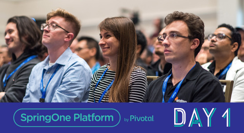 Leveling Up; Day 1 at SpringOne Platform 2018