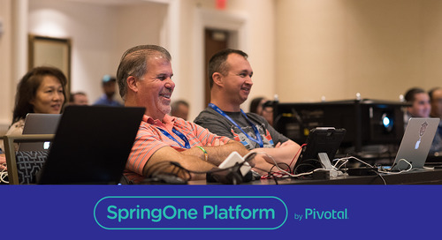 Multi-Cloud and Data Replication Over a Wide Area Network: A High Interest Topic At SpringOne Platform