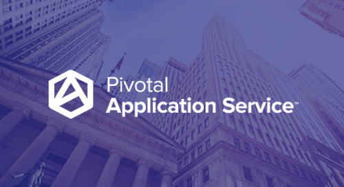 The Anatomy of Secure, Modern Infrastructure at a Big Bank: Moving to Zero Trust Networking with Pivotal Application Service & VMware NSX-T